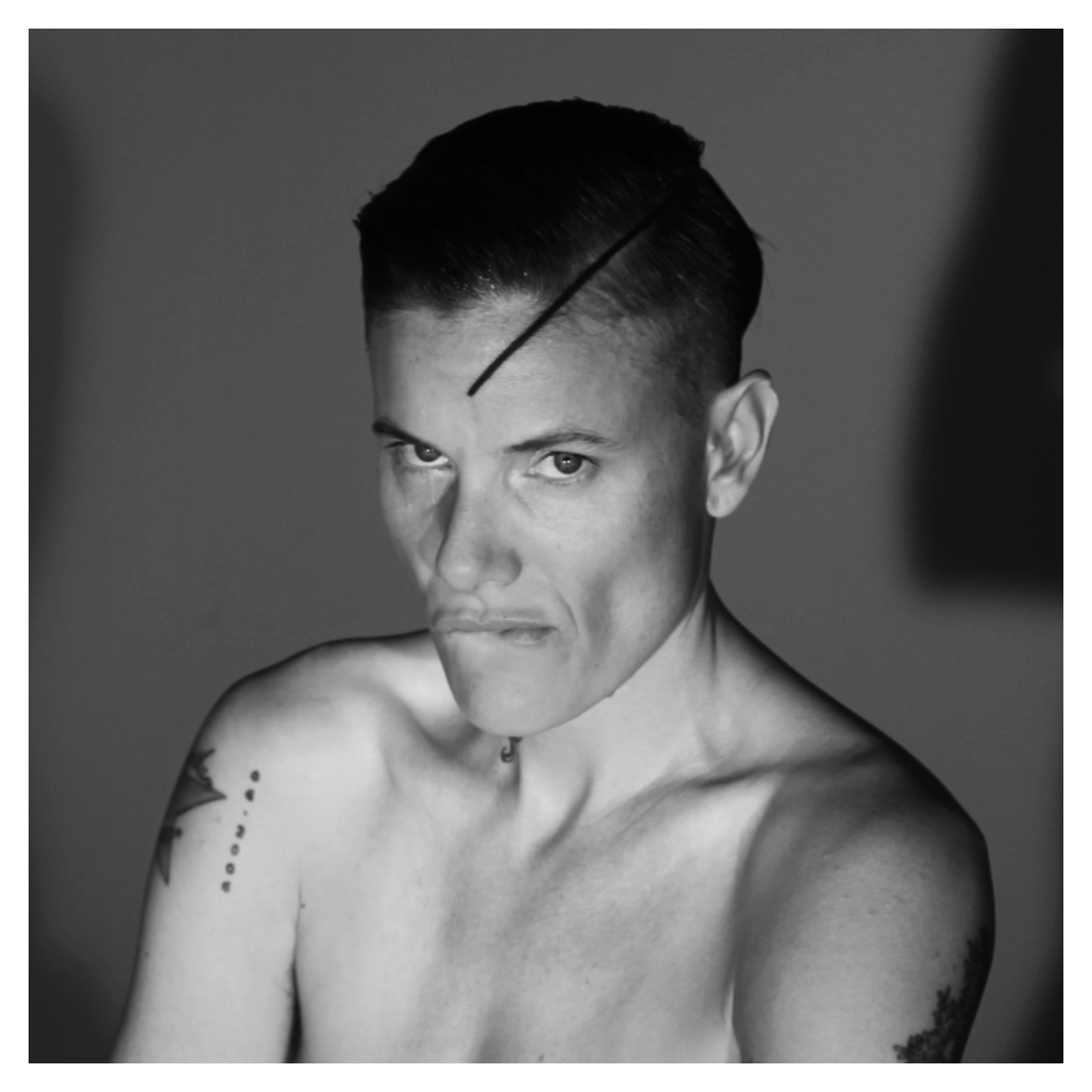 Técha Noble in collaboration with Jordan Graham, Casey Legler Study video still, 2015